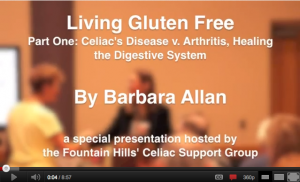 Watch Living Gluten Free Youtube Video