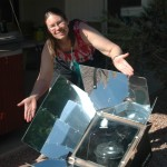 Solar ovens make some of the moistest, most tender meat and baked goods ever